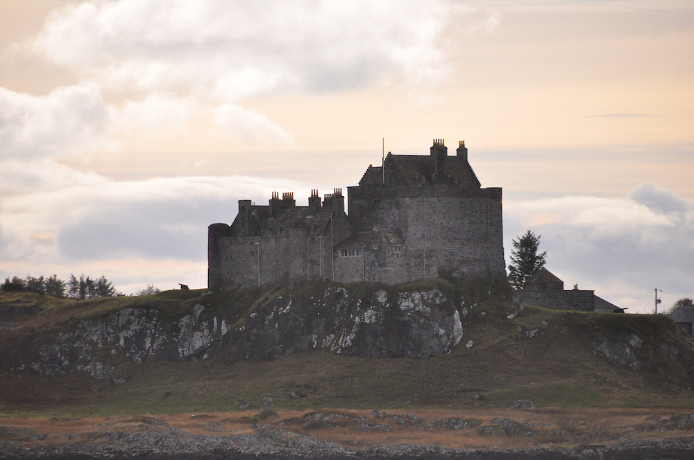 A dramatic view of Duart Castle, stronghold of the MacLean clan. Photo: Meg Pier