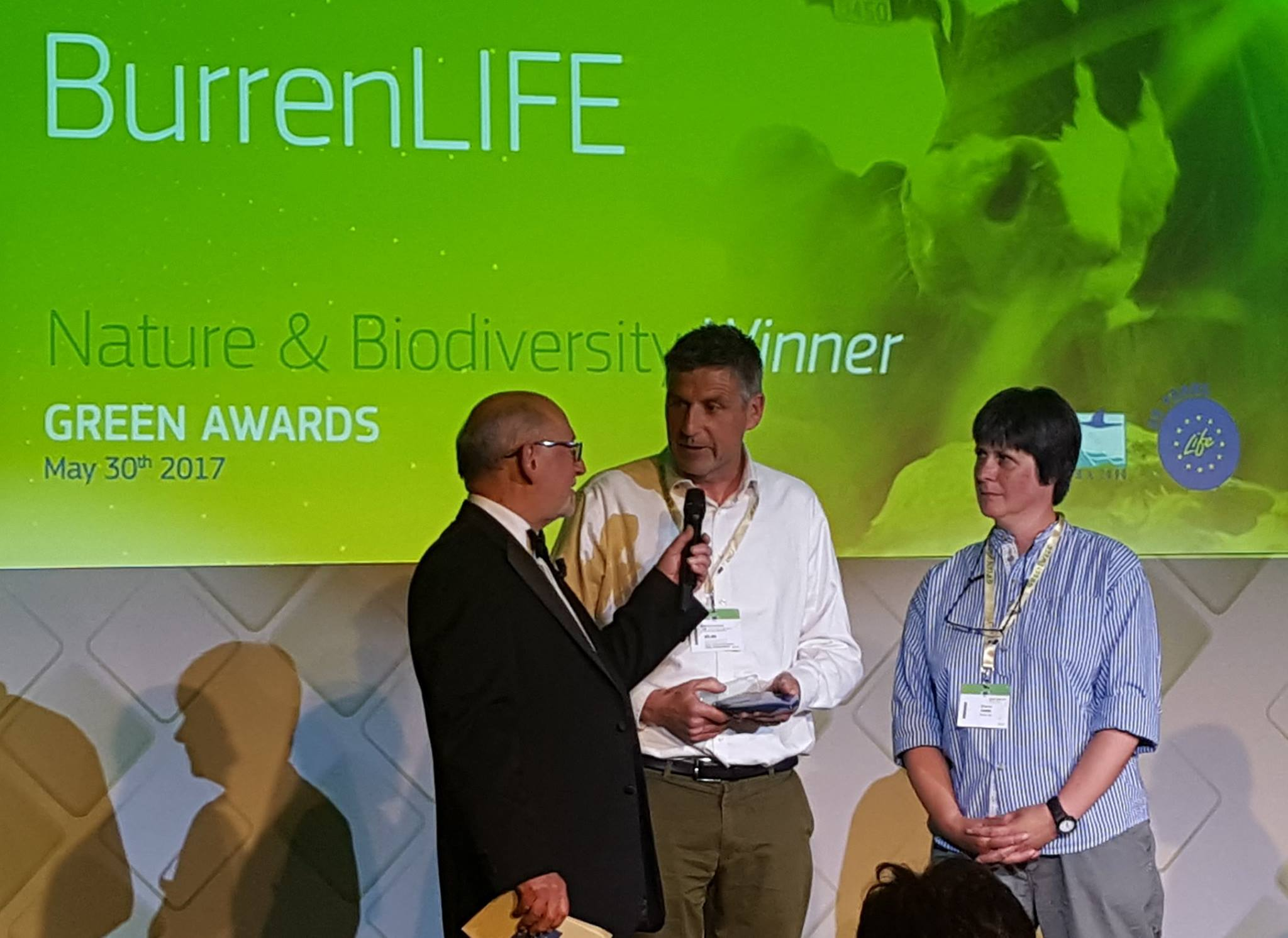 The Burren Programme won the prestigious EU Green Award in 2017 for its work in nature and biodiversity from among 4300 projects. Photo: Burrenbeo Trust