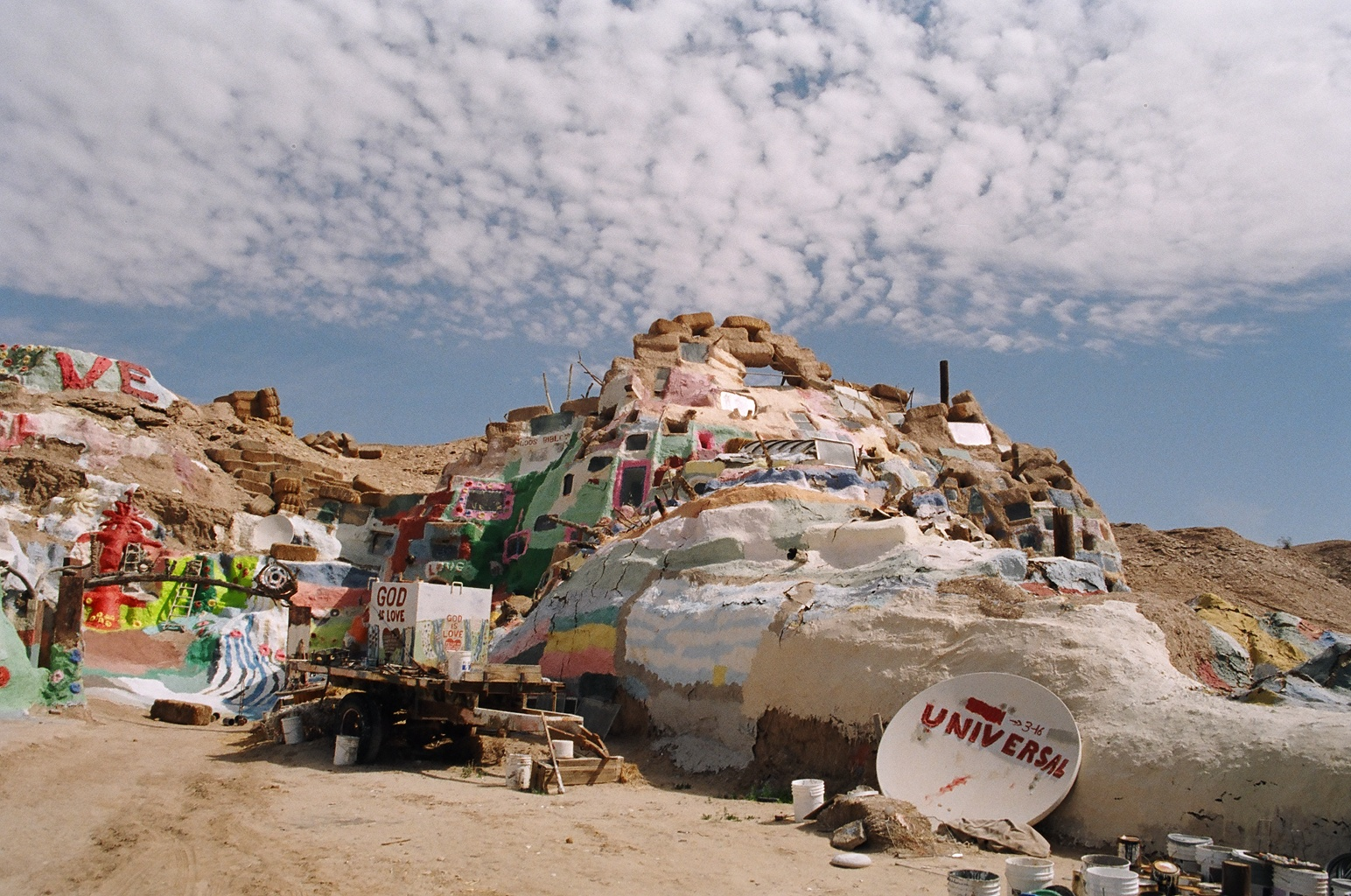 finding salvation, at salvation mountain