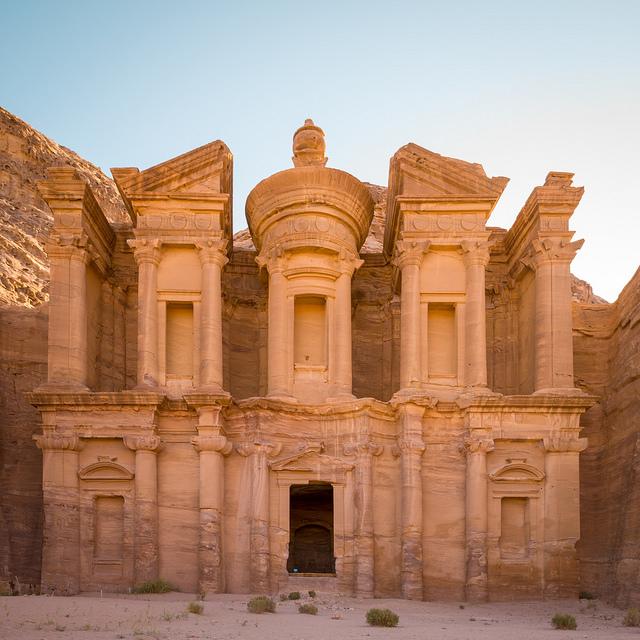 Petra in Jordan. Photo: Frode Bjorshol ( Flickr )