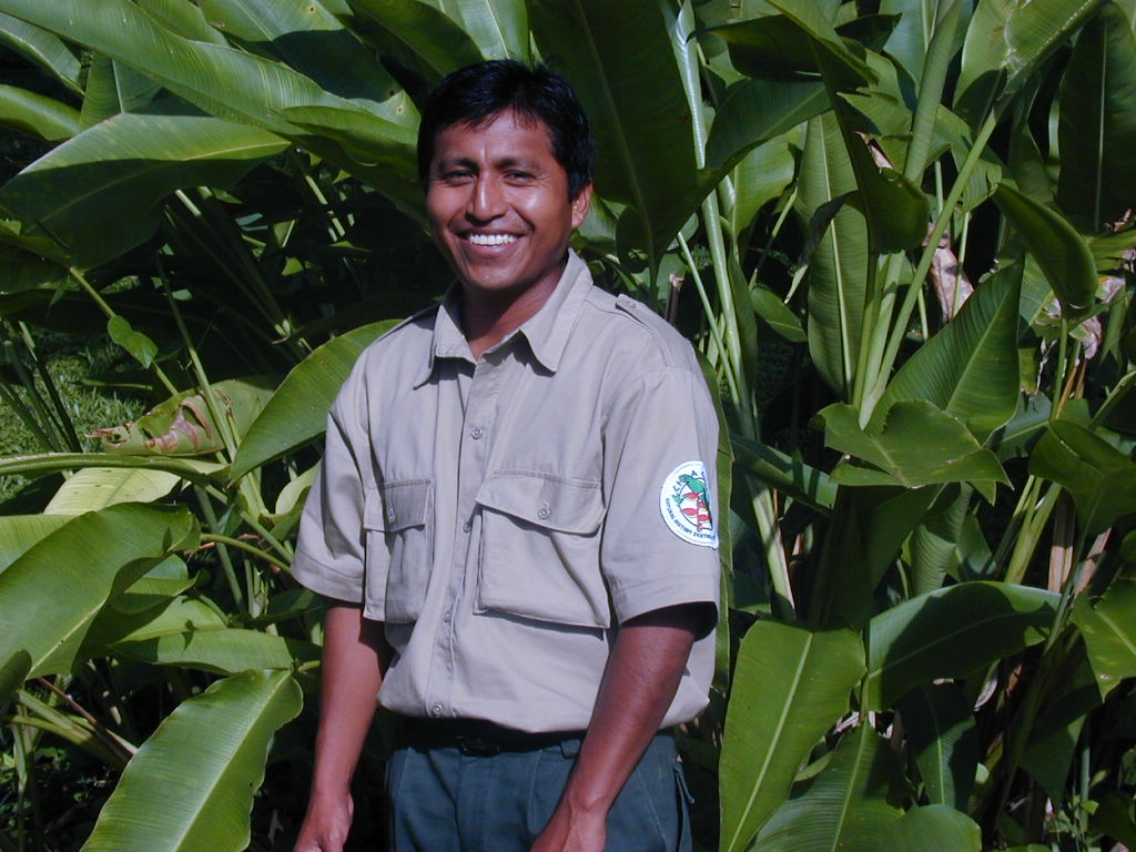 Naturalist guide Miguel Choco has worked at Chaa Creek Lodge for 25 years. Photo: Chaa Creek.