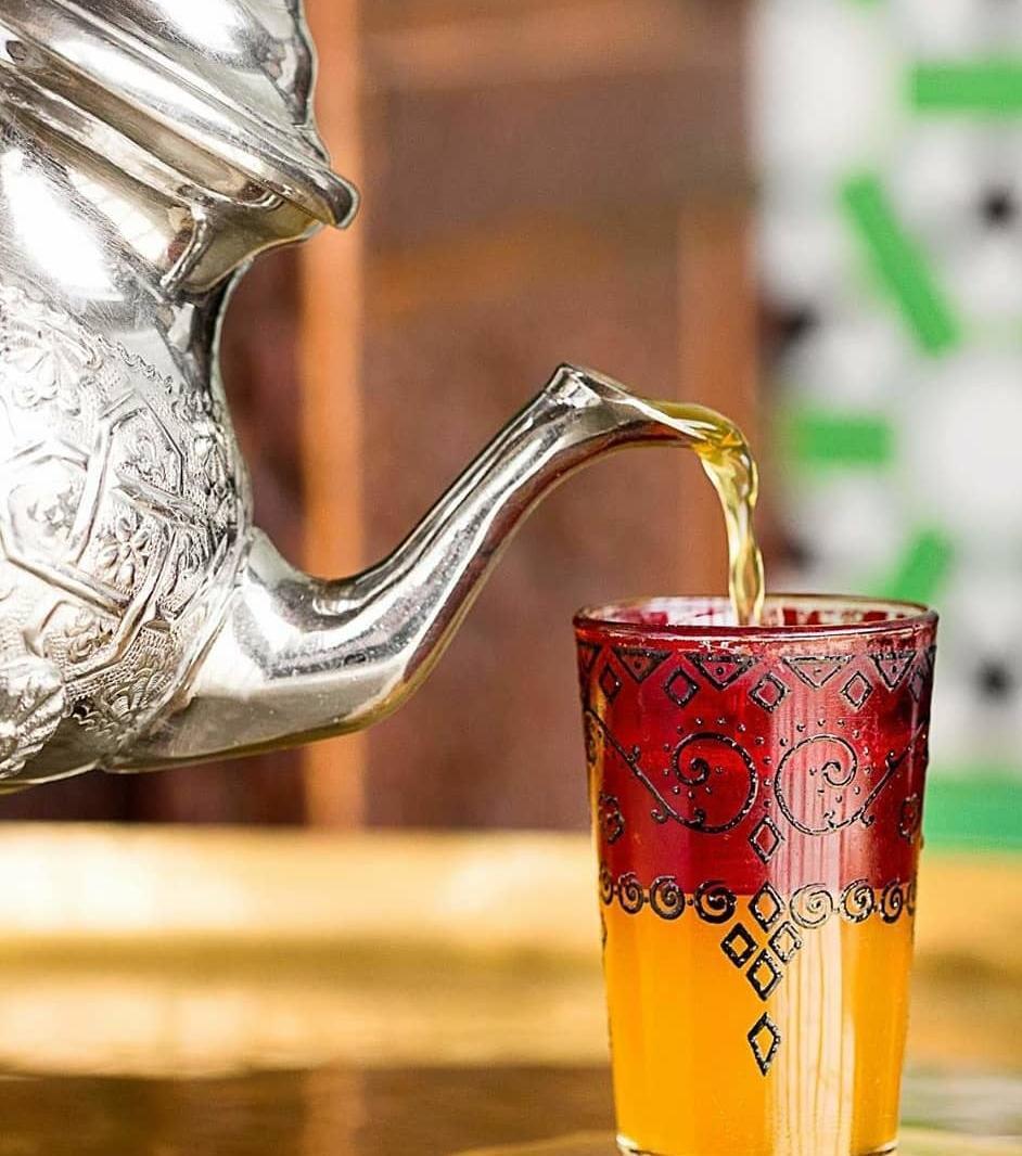 Mint tea is a must at the hammam. Photo: Imane Hamdi