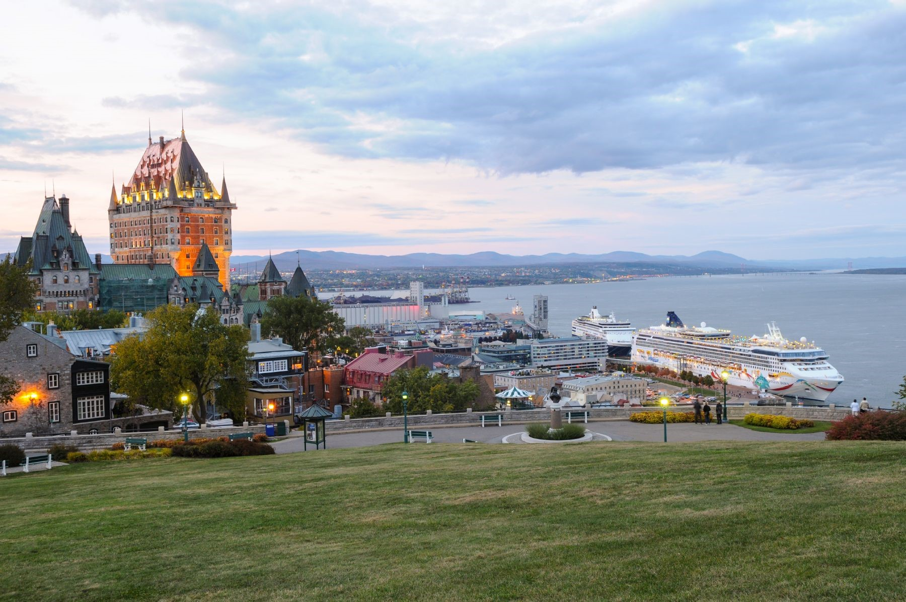 Chateau Frontenac, Photo: Ville de Quebec, 2012, Chantel Gagnon