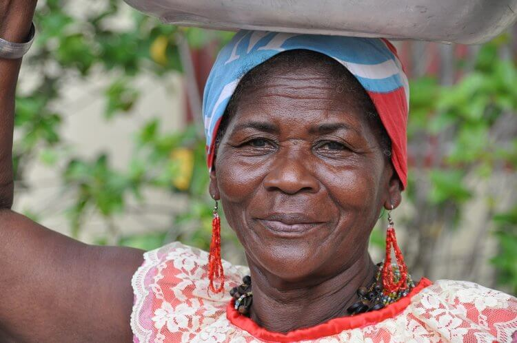 Faces of Colombia -