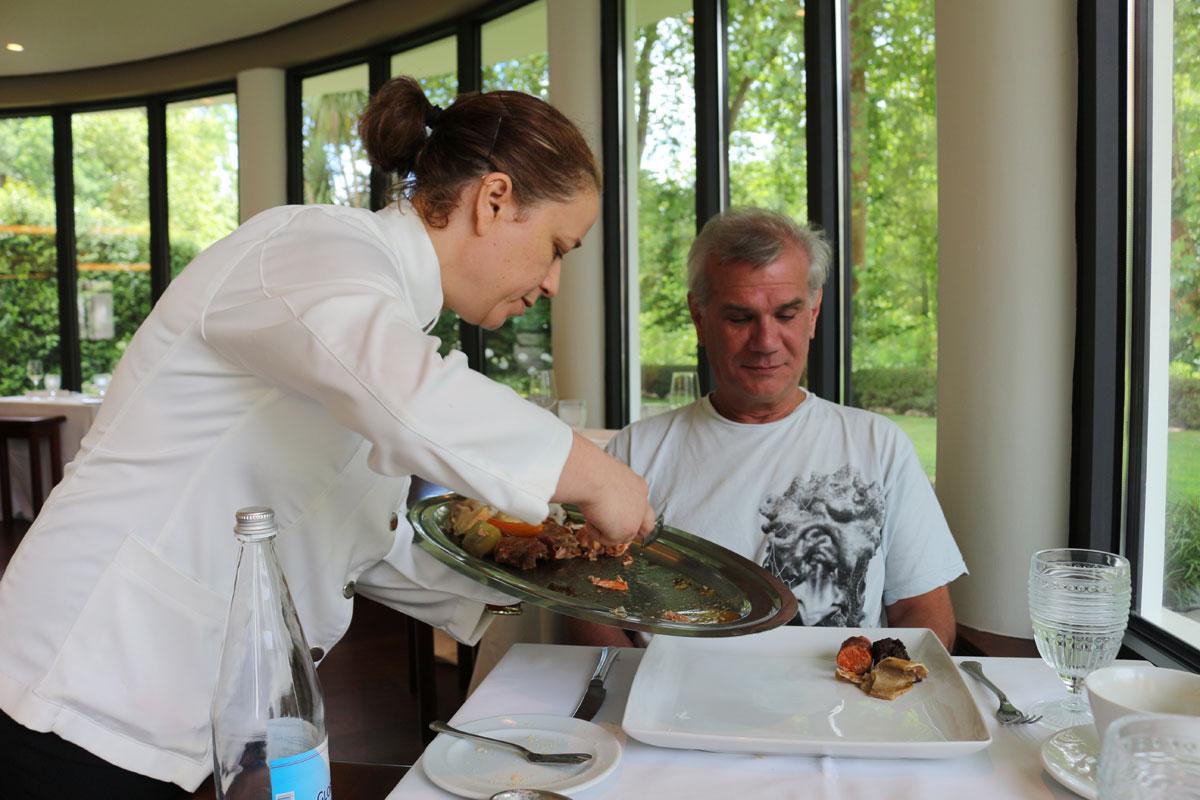 Cozido das Furnas being served in Terra Nostra Gardens Hotel restaurant..jpg