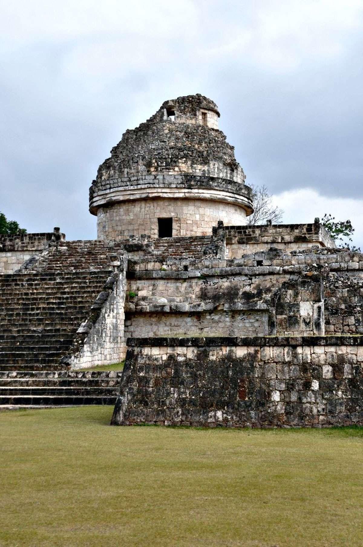 Maya Astronomy Center, Photo: Jose Santos Tamay