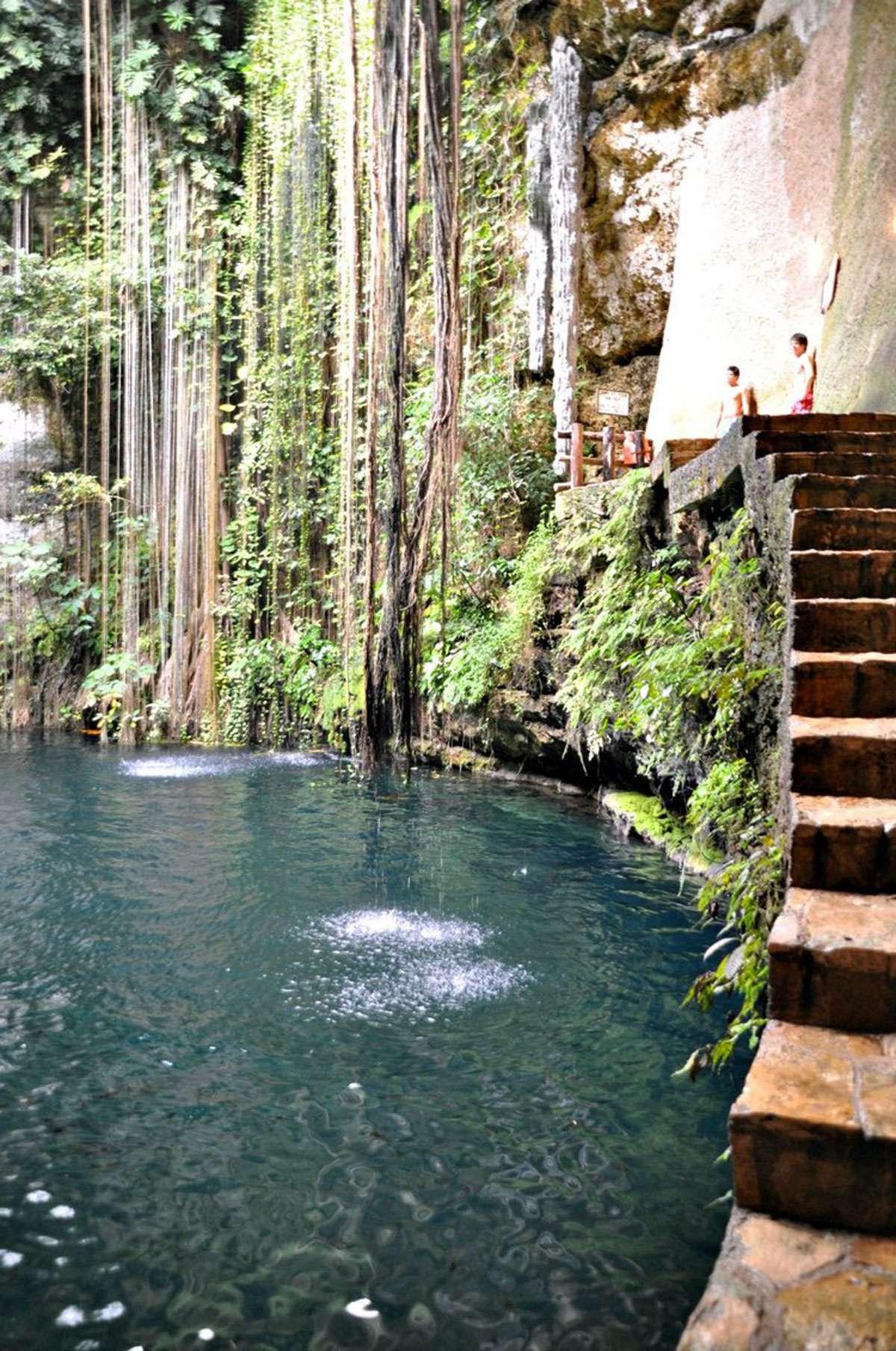 Cenotes, Photo: Meg Pier