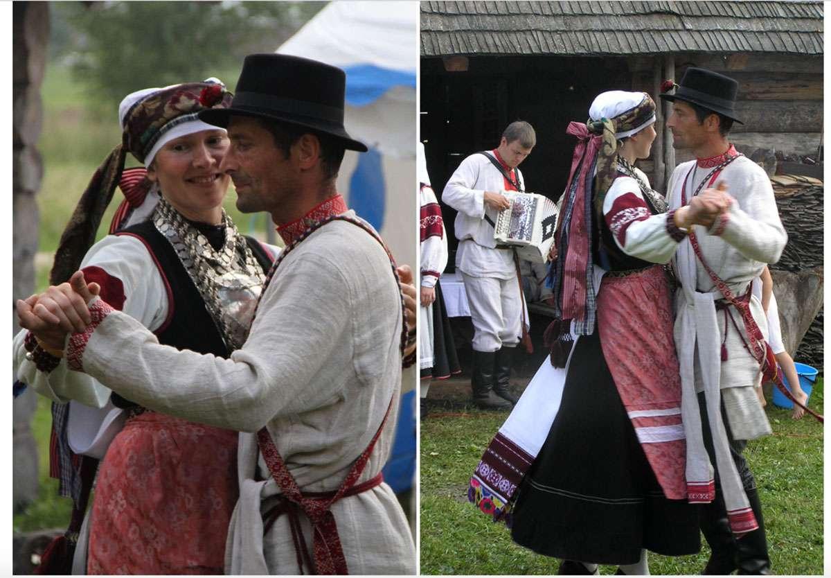 The bride and groom dancing. Photo:Tiiu Tagamets