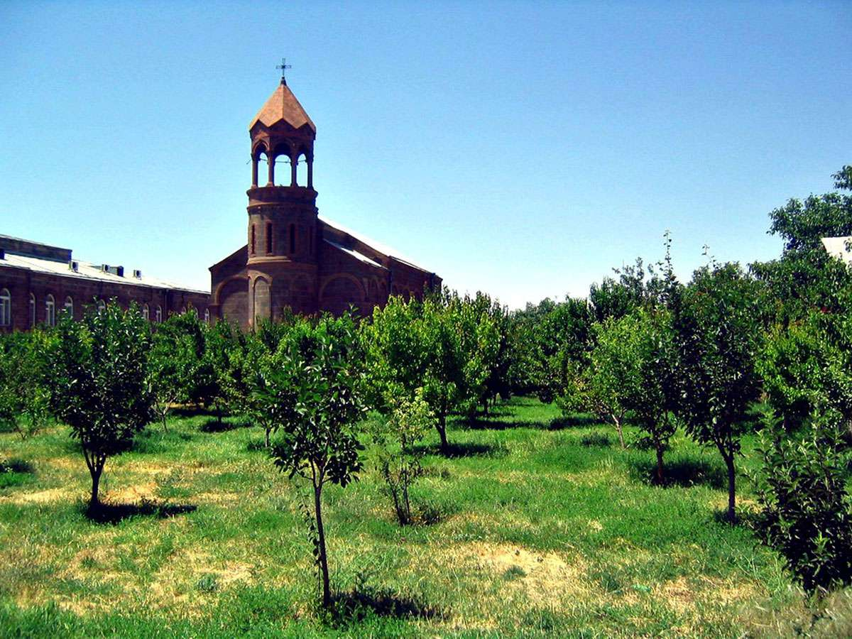 St Mesrob Mashtots Church in Oshakan 2006
