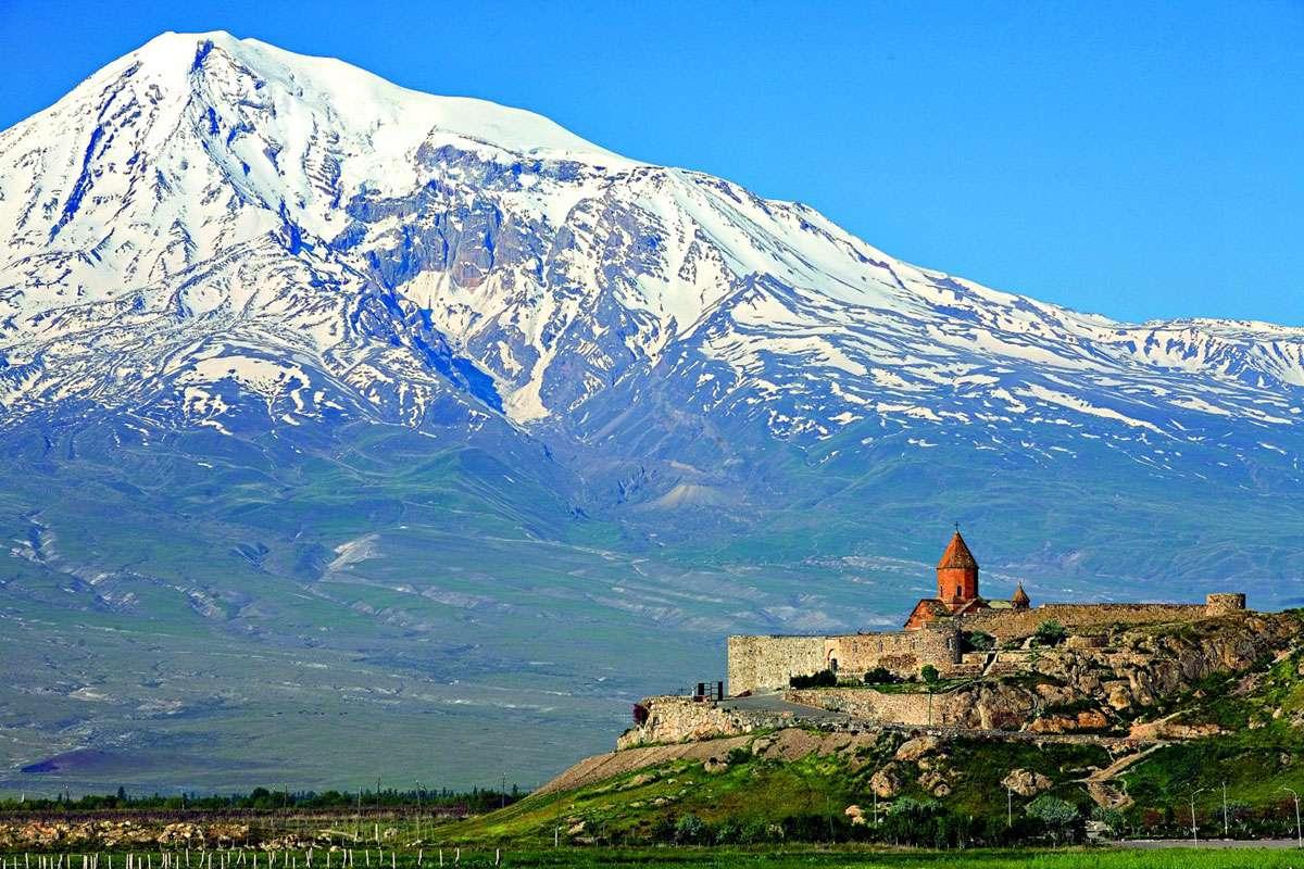 Khor Virap Monastery - Image credit  Creative Commons