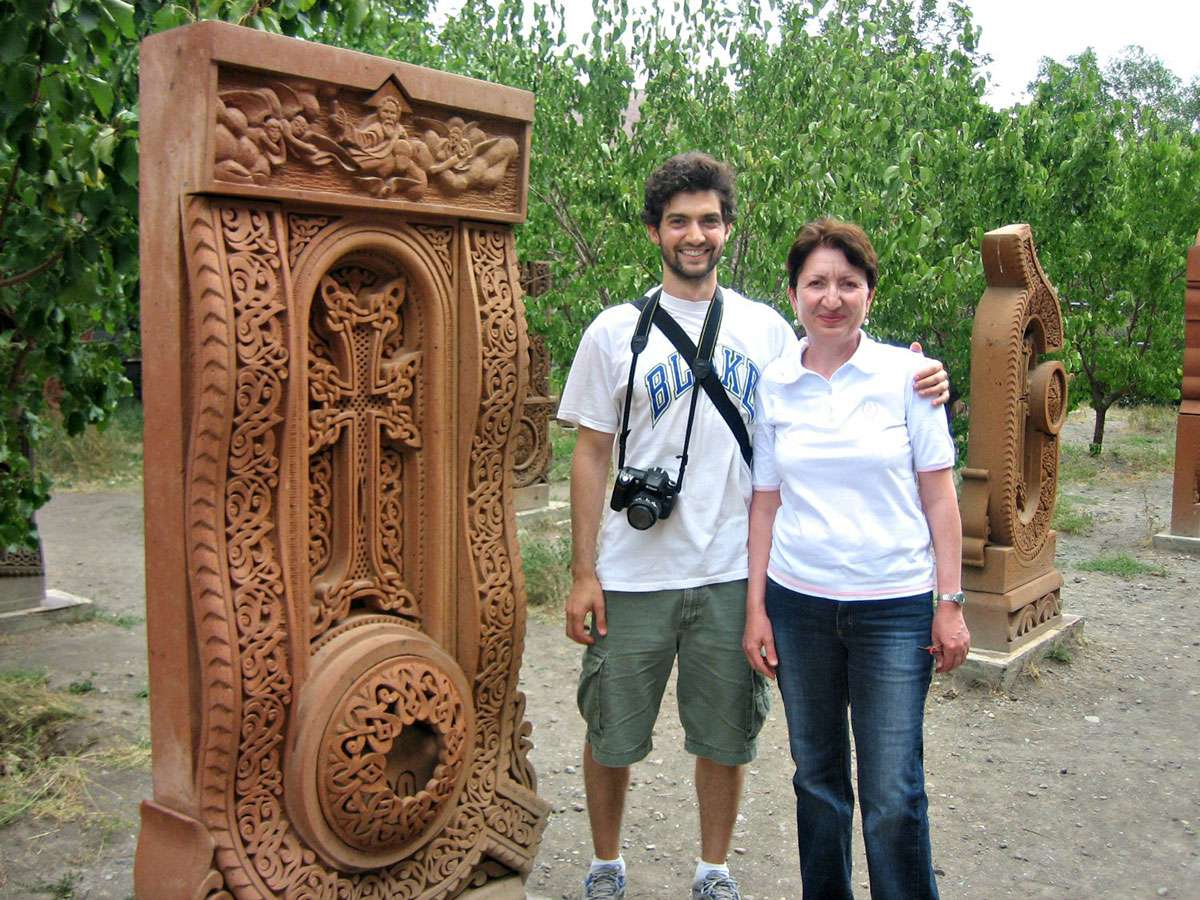 With David Alpay 2008