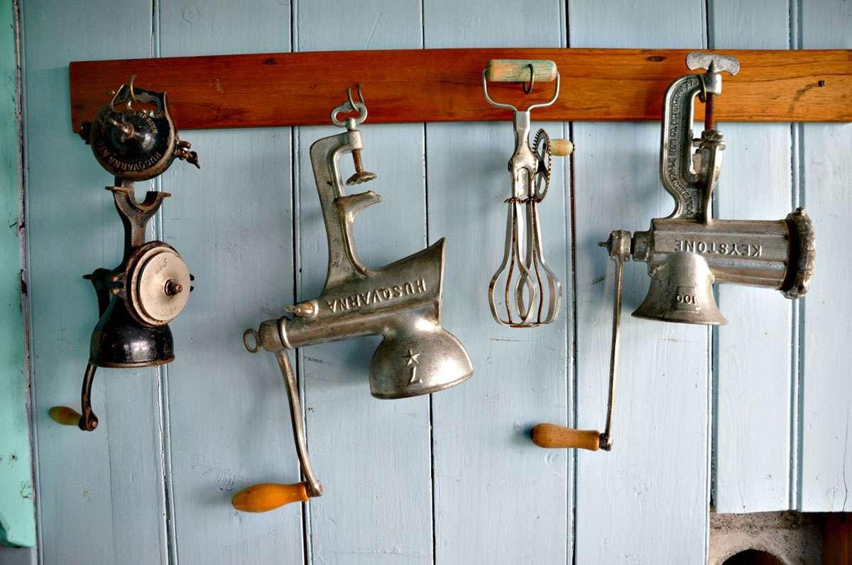 Skogar Musuem displays everyday utensils & Hobbit-like homes amidst supernatural landscape. Photo: Meg Pier