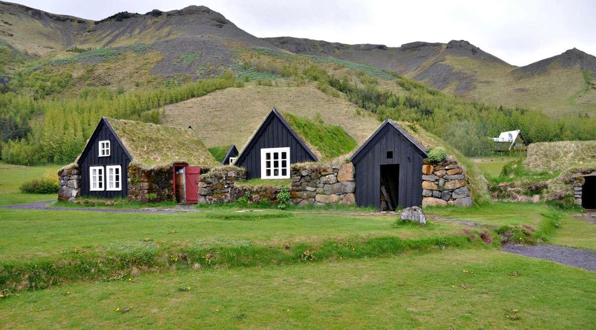 Skogar Folk Museum. Photo: Meg Pier