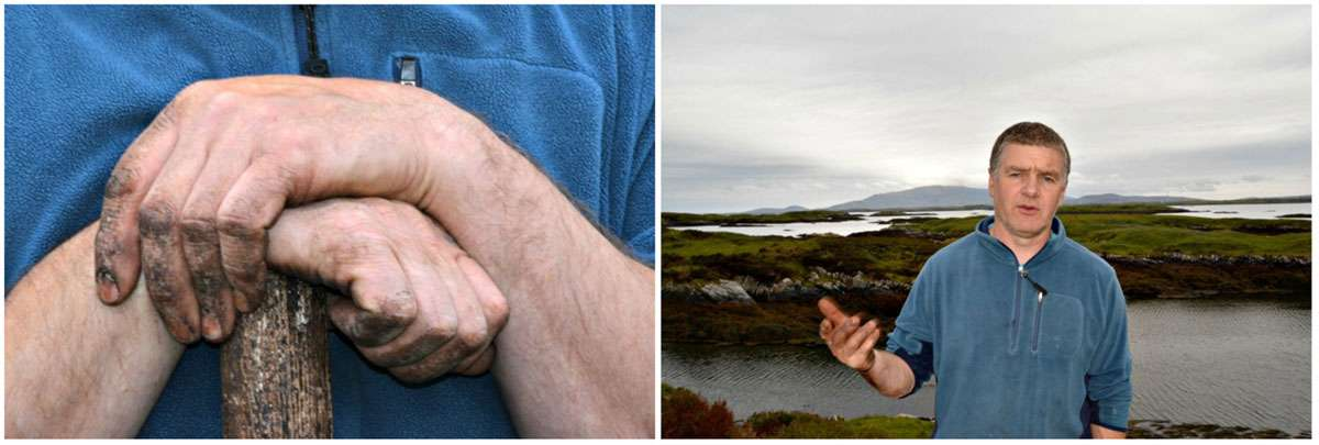 D onald MacPhee of Benbecula comes from a long line of storytellers. Photos: Meg Pier