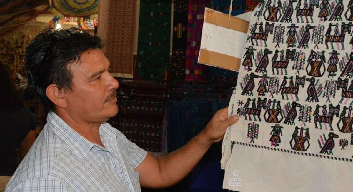 Marco Cobar, Sales Manager, Nim Po't Maya Textilles