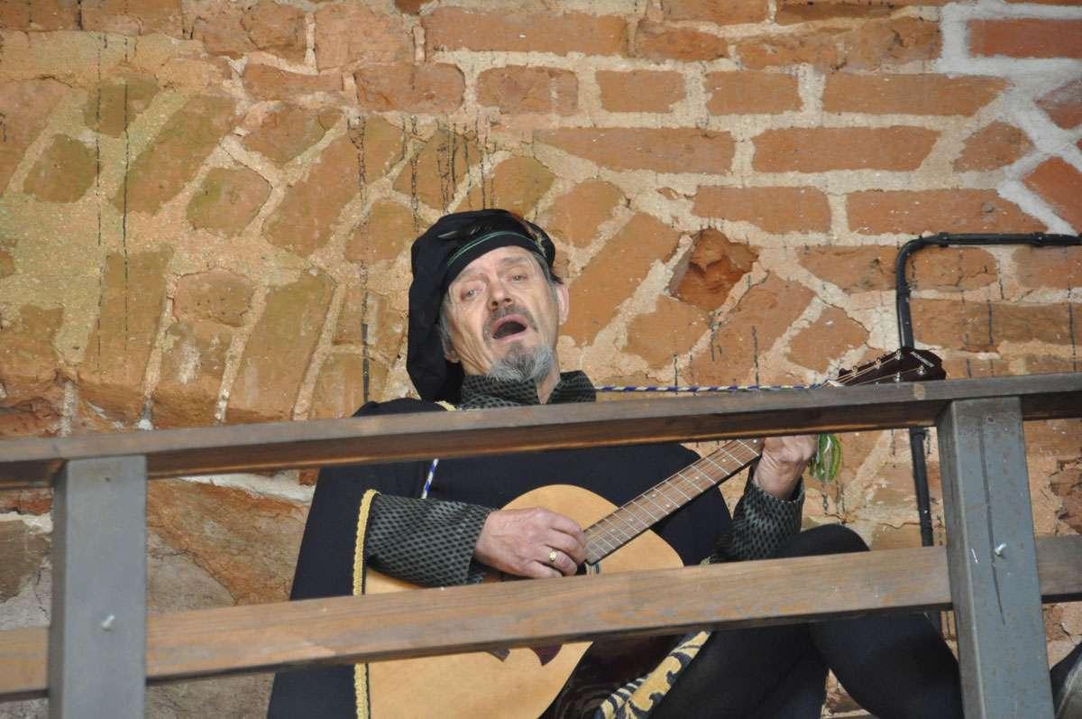 Elina's troubadour lover. Photo: Meg Pier