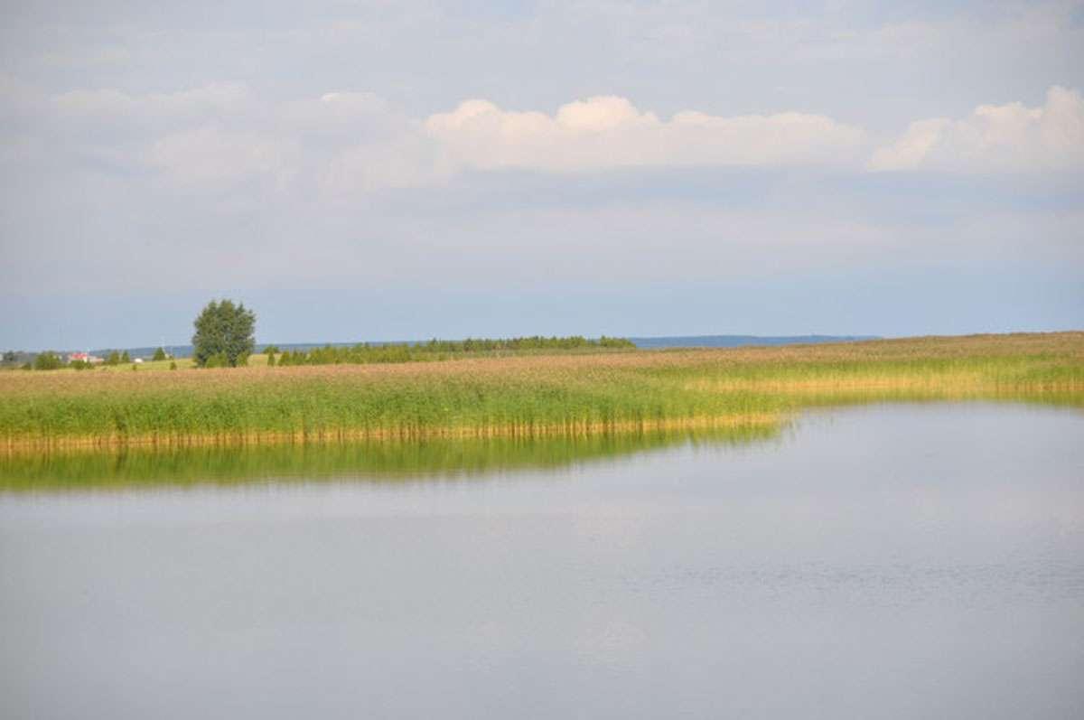 """Valke Vain or """"small strait,"""" separates Muhu from the neighboring island of Saaremaa. Photo: Meg Pier"""