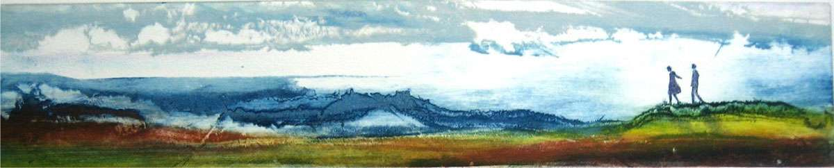 """Beginning of a Journey"" by Irene Jensen"