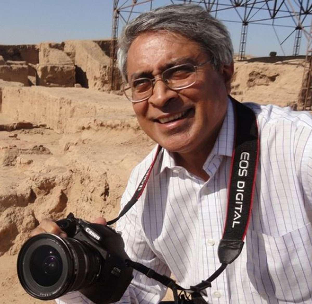 Photographer, film-maker and art-historian, Benoy Behl.