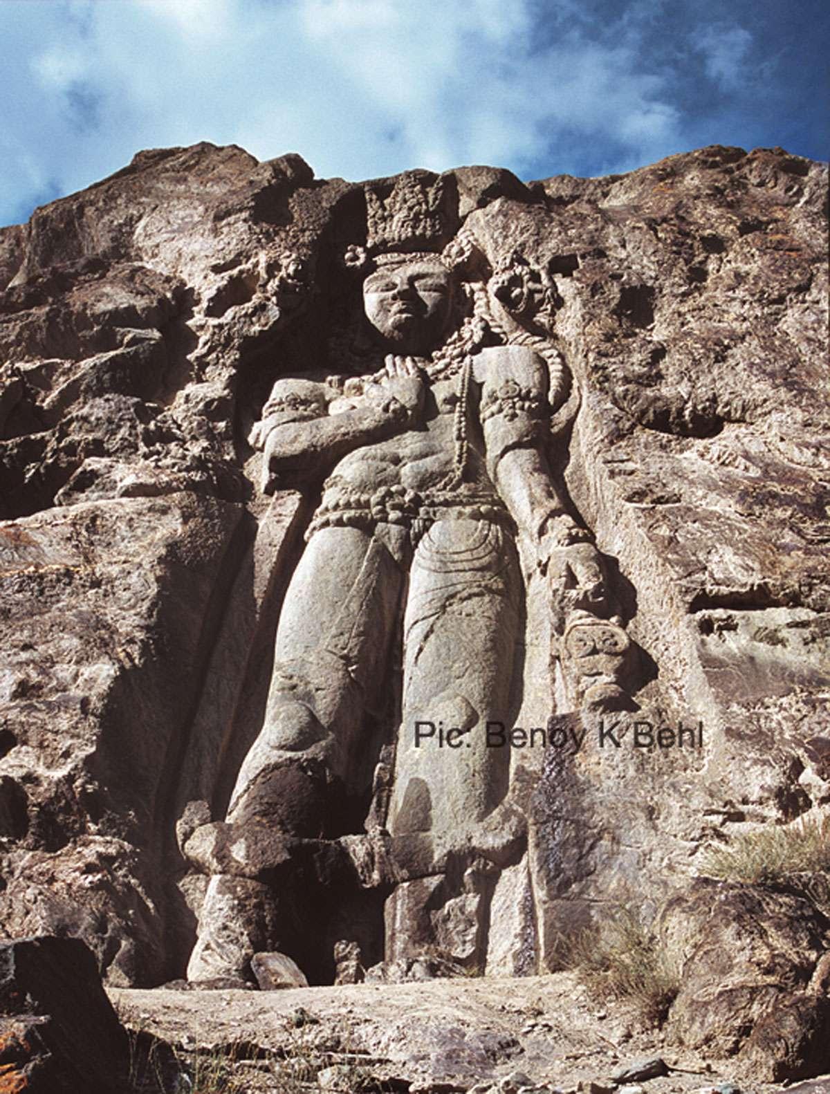 Maitreya, Kartsey, Ladakh. Photo: Benoy K Behl