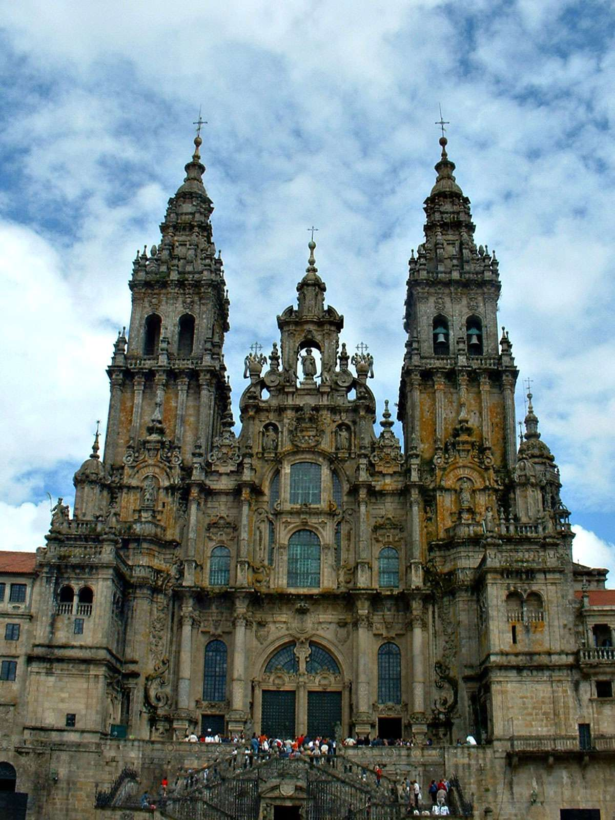 Cathedral of Santiago de Compostela. Photo:  Creative Commons