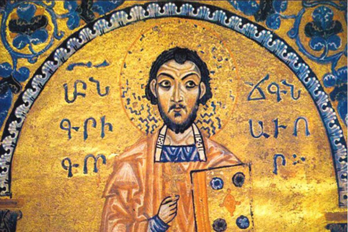 Gregory of Narek, who lived from 950 – 1003 was an Armenian mystic, lyrical poet, monk, theologian and a saint of the Armenian Apostolic Church. Photo: Ardean Gallery