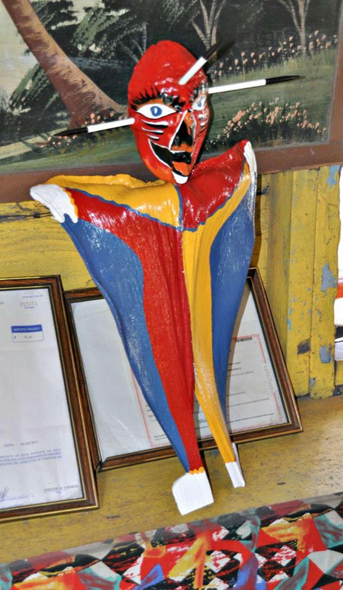 The Loiza Mask. Photo: Meg Pier