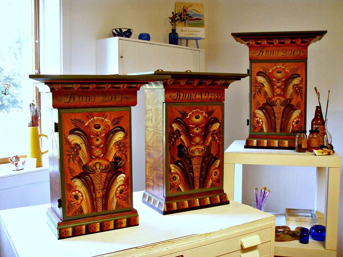 Swedish wall cabinets