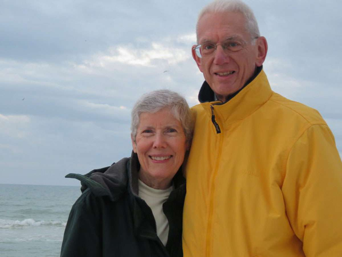 Joie and Syd Galloway have made at least 140 long term house swaps. Photo: Joie Galloway