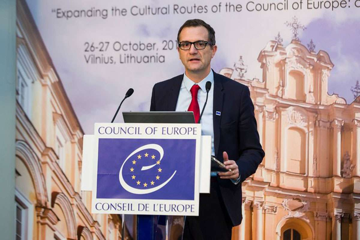 Executive Secretary, Enlarged Partial Agreement on Cultural Routes of the Council of Europe (EPA) and Director of the European Institute of Cultural Routes (EICR), Stefano Dominioni.