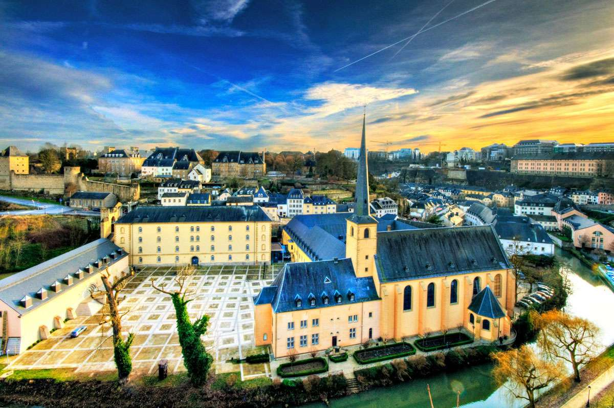 Neumunster Abbey in Luxembourg (Headquarter of the European Institute of Cultural Routes / EPA on Cultural Routes of the Council of Europe). Photo: EICR