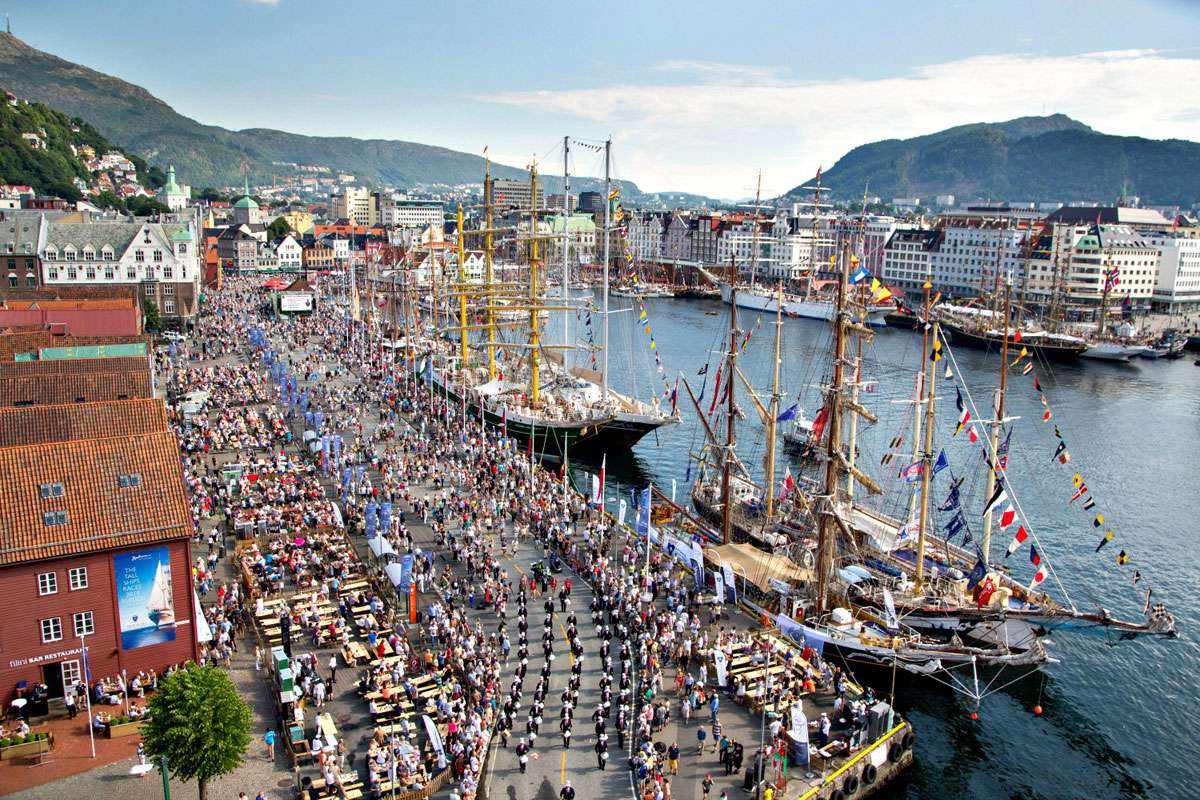 Hansa Harbour in Bergen, Norway. Photo: EICR