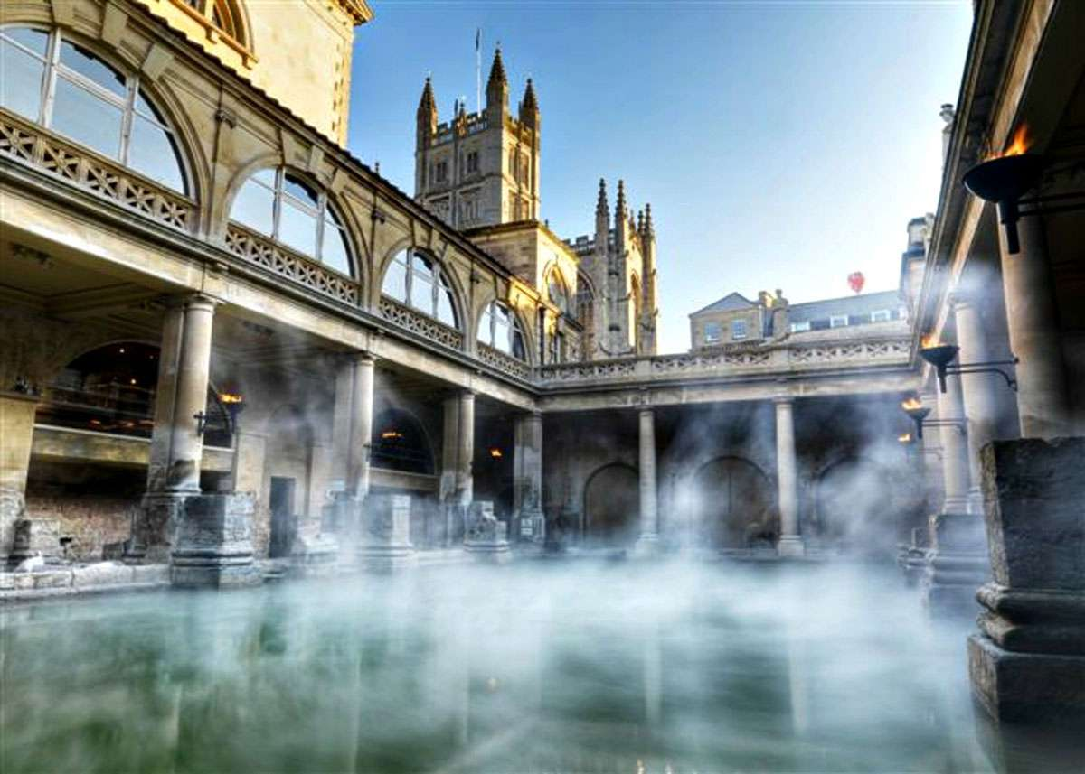 Bath, England - on the The European Route of Historic Thermal Towns. Photo: EICR
