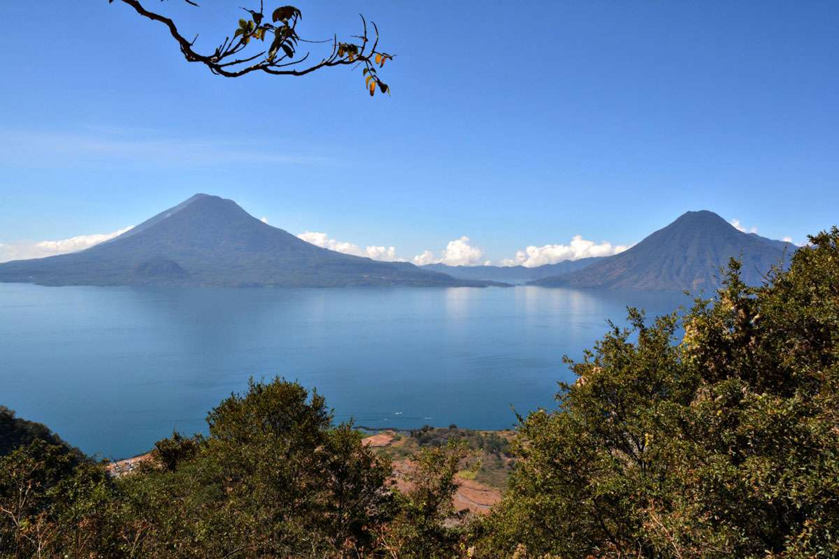 It's easy to see why Lake Atitlan has been described as one of the world's most beautiful sites.Photo: Meg Pier