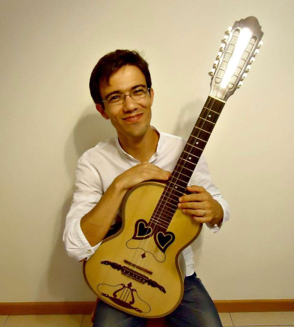 Rafael Carvalho, an Azorean musician, composer & teacher. Photo: Rafael Carvalho