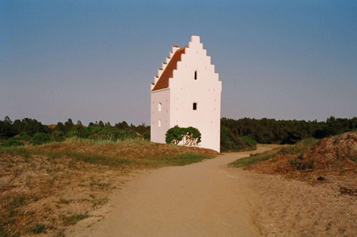 The Buried Church, Skagen, Denmark