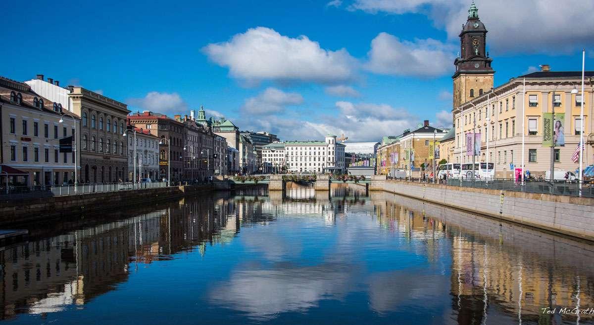Credit: Ted McGrath - Gothenburg Sweden - Hamnkanalen Canal