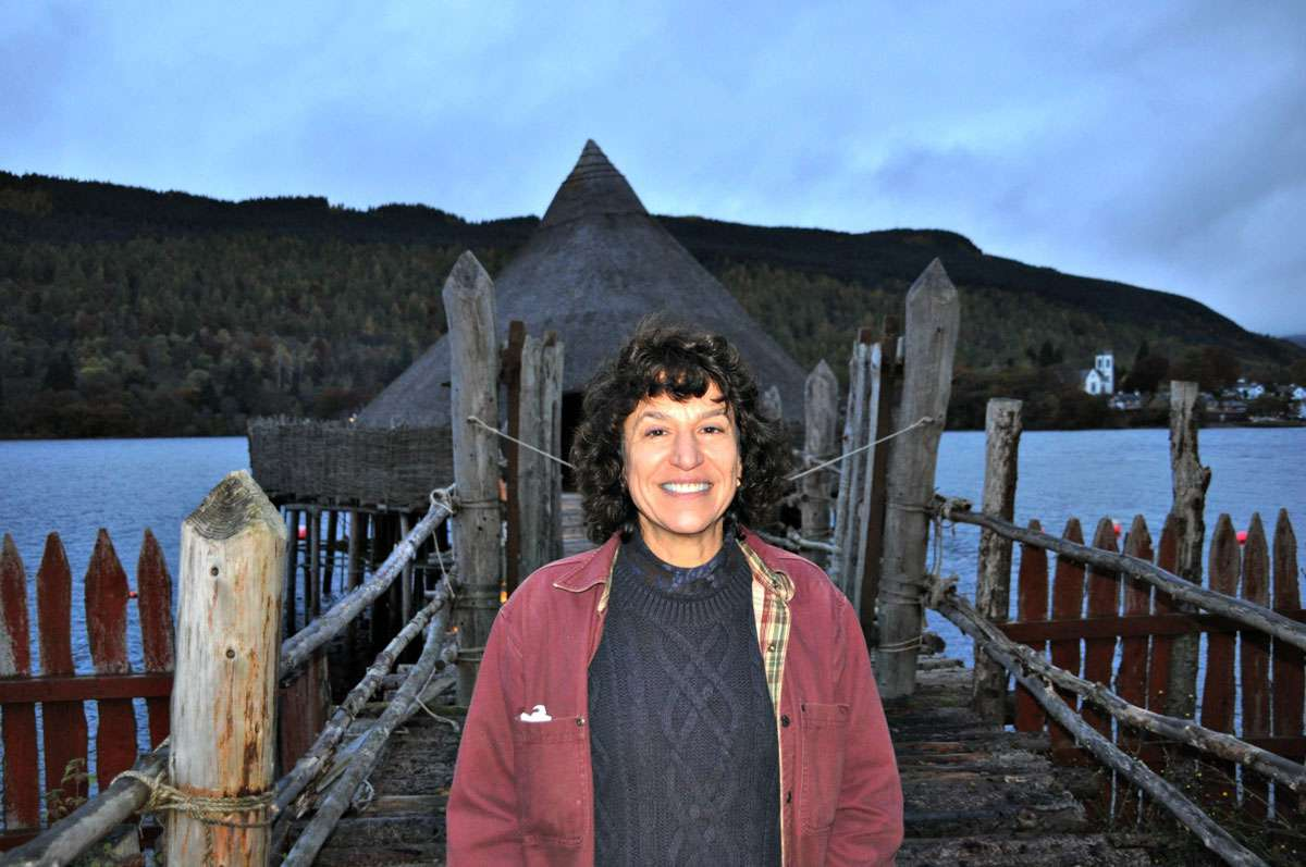 Barrie Andrian, Managing Director of the Scottish Crannog Centre. Photo: Meg Pier