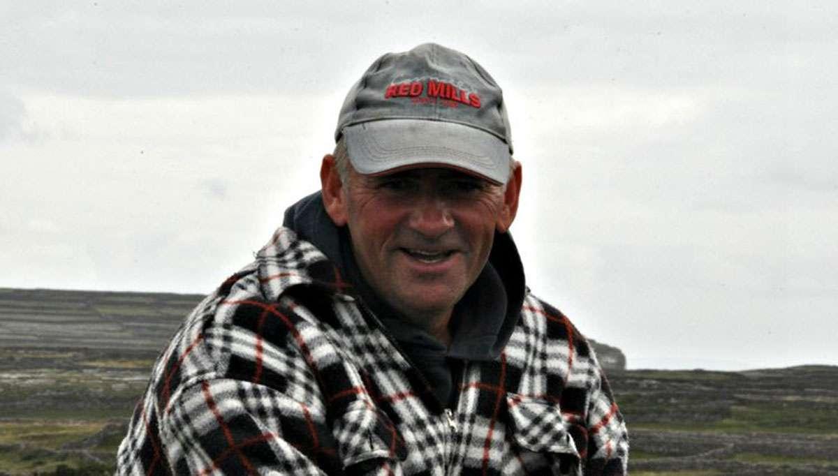 Patrick, my guide on Inis Mor, photo: Meg Pier