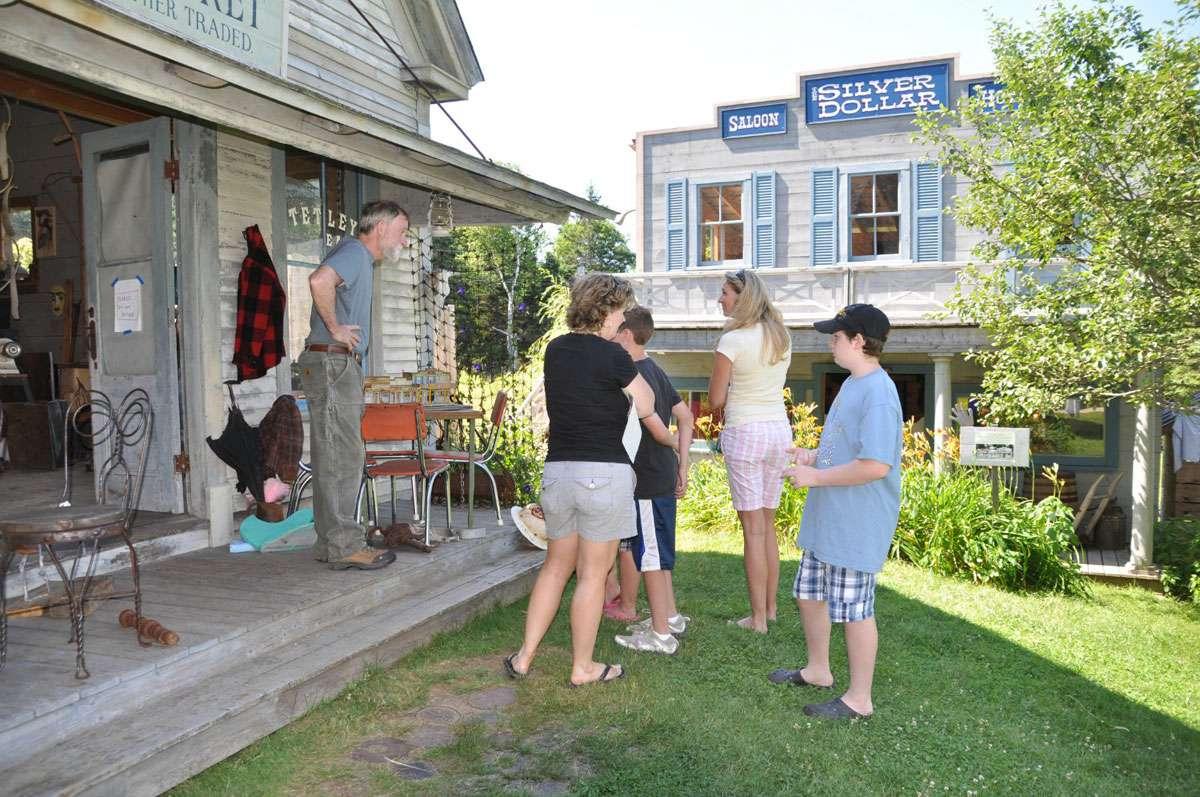 By being true to his vision, Peter's work brings admirers to him in Deer Isle. Photo: Meg Pier