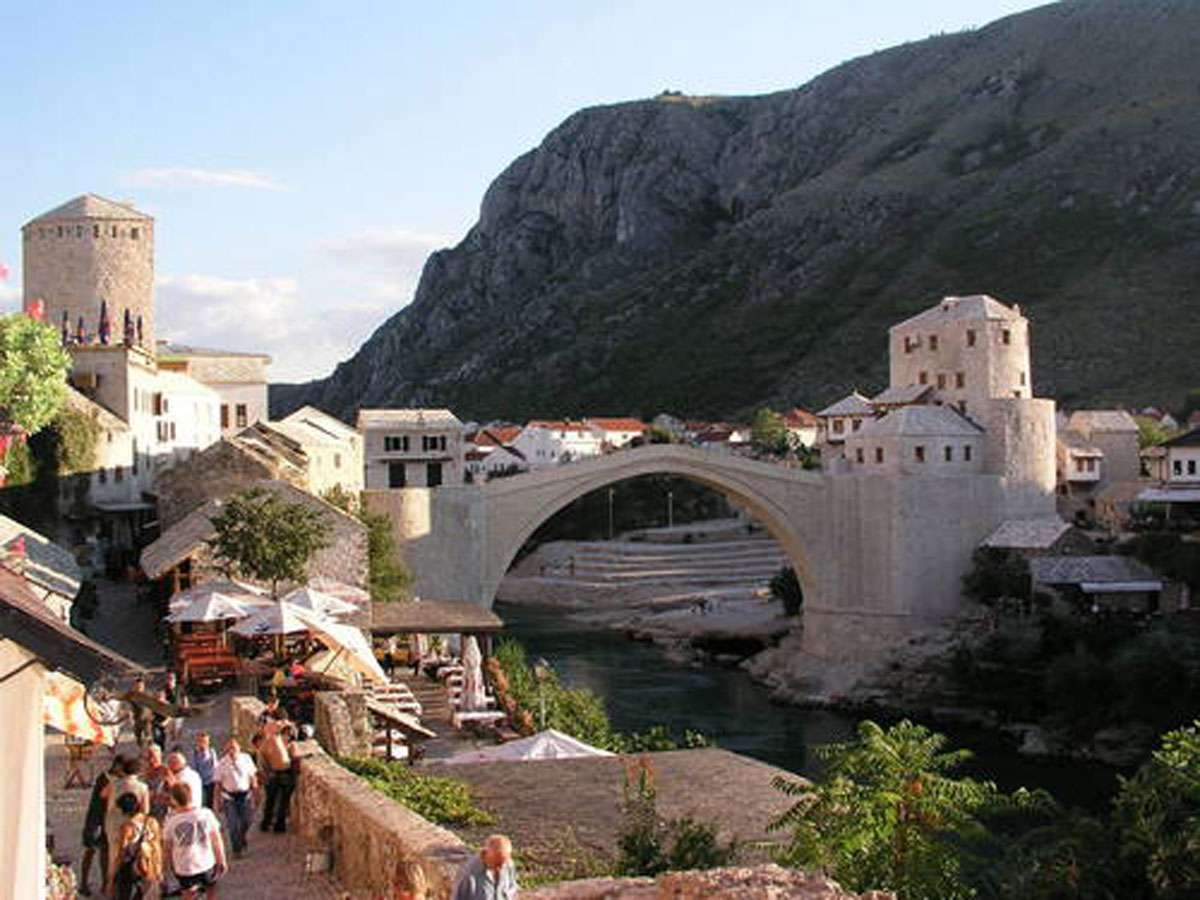 Old Bridge of Mostar, photo: Sinisa Sesum, courtesy of UNESCO