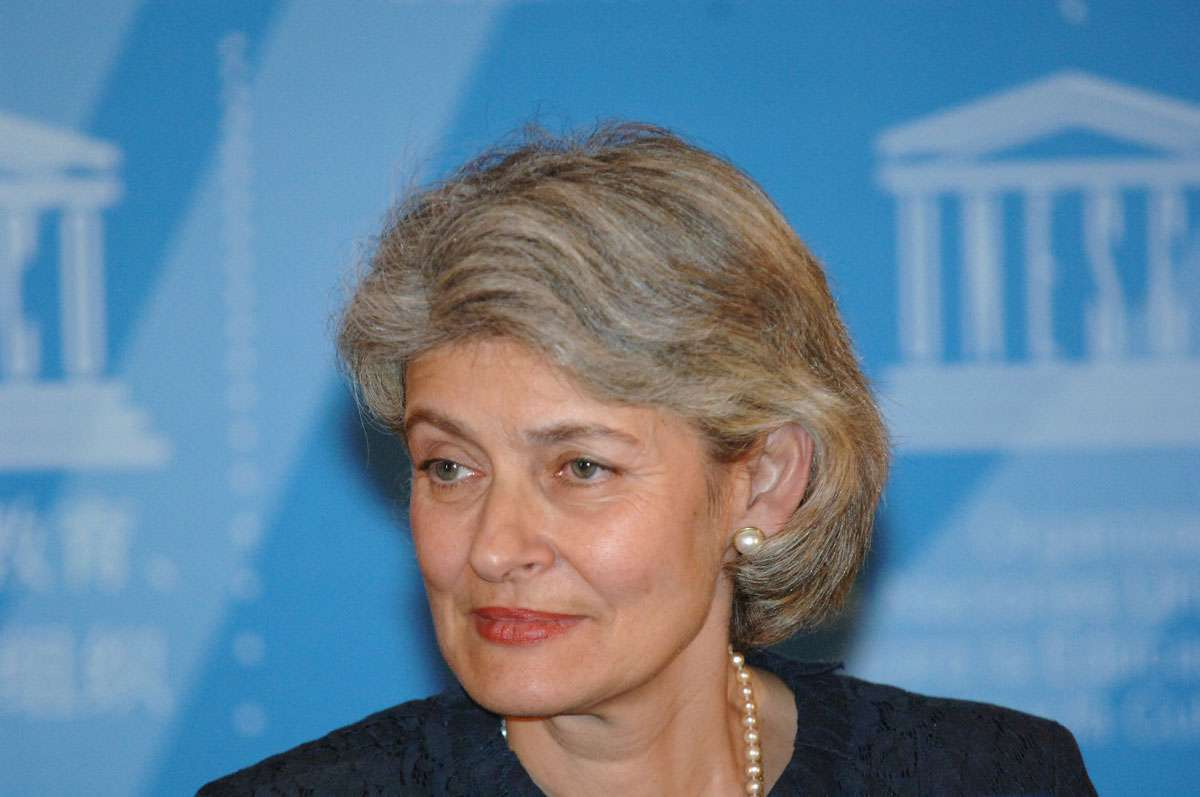 UNESCO Director-General Irina Bokova. Photo:UNESCO