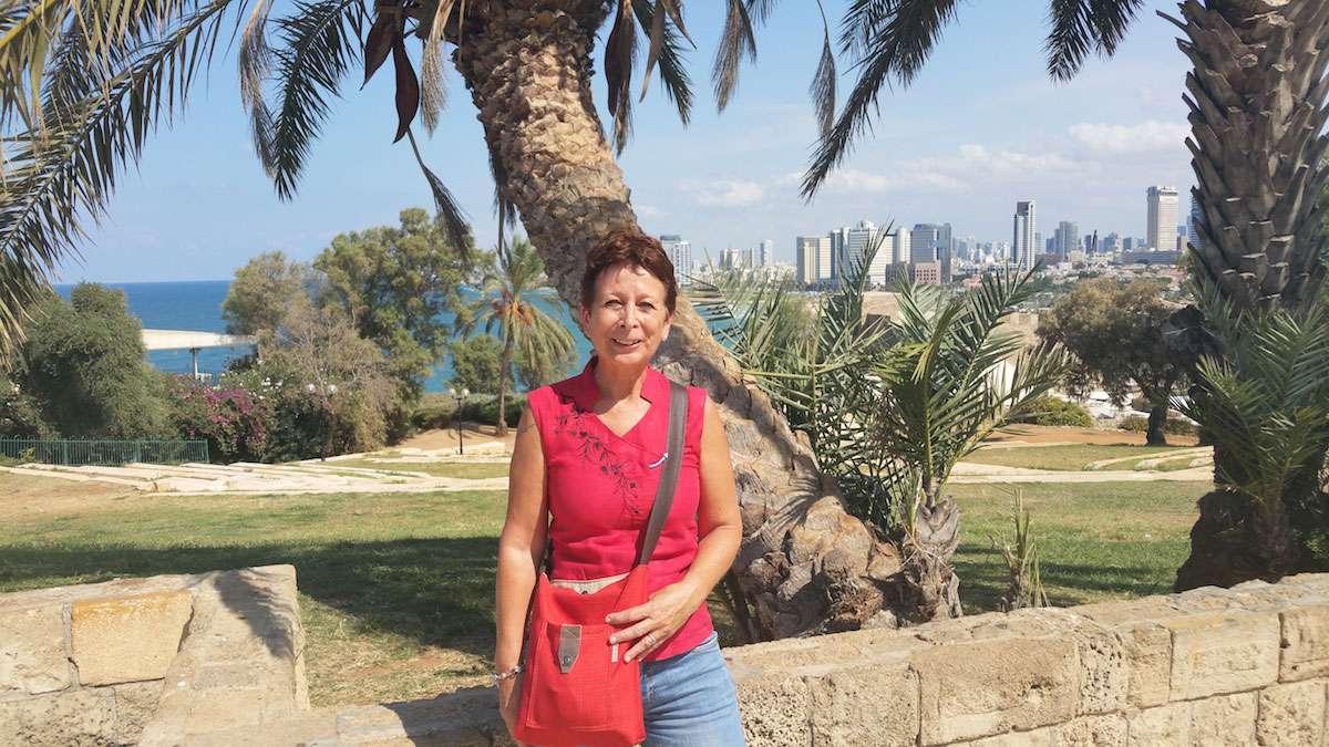 Tel Aviv Greeter, Corinne Ben Sasson. Photo: Corinne Ben Sasson