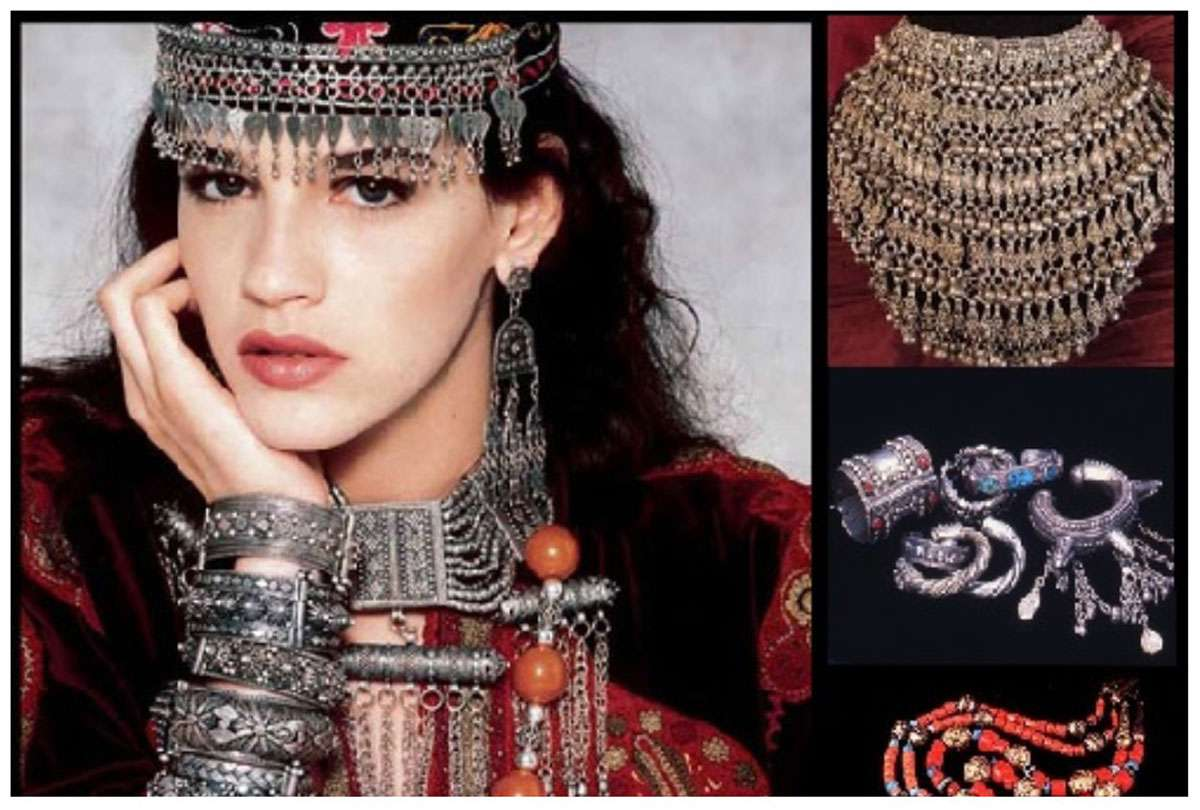 Exquisite jewelry is a dimension of Yemenite culture. Photo: Corinne Ben Sasson