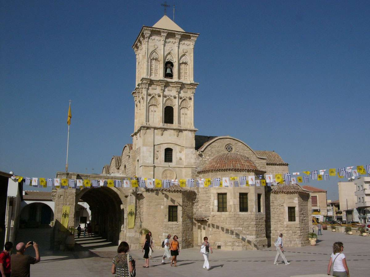 Agios Lazaros a beautiful and mesmorizing church in Larnaka. Credit: Hannes Grobe, Creative Commons