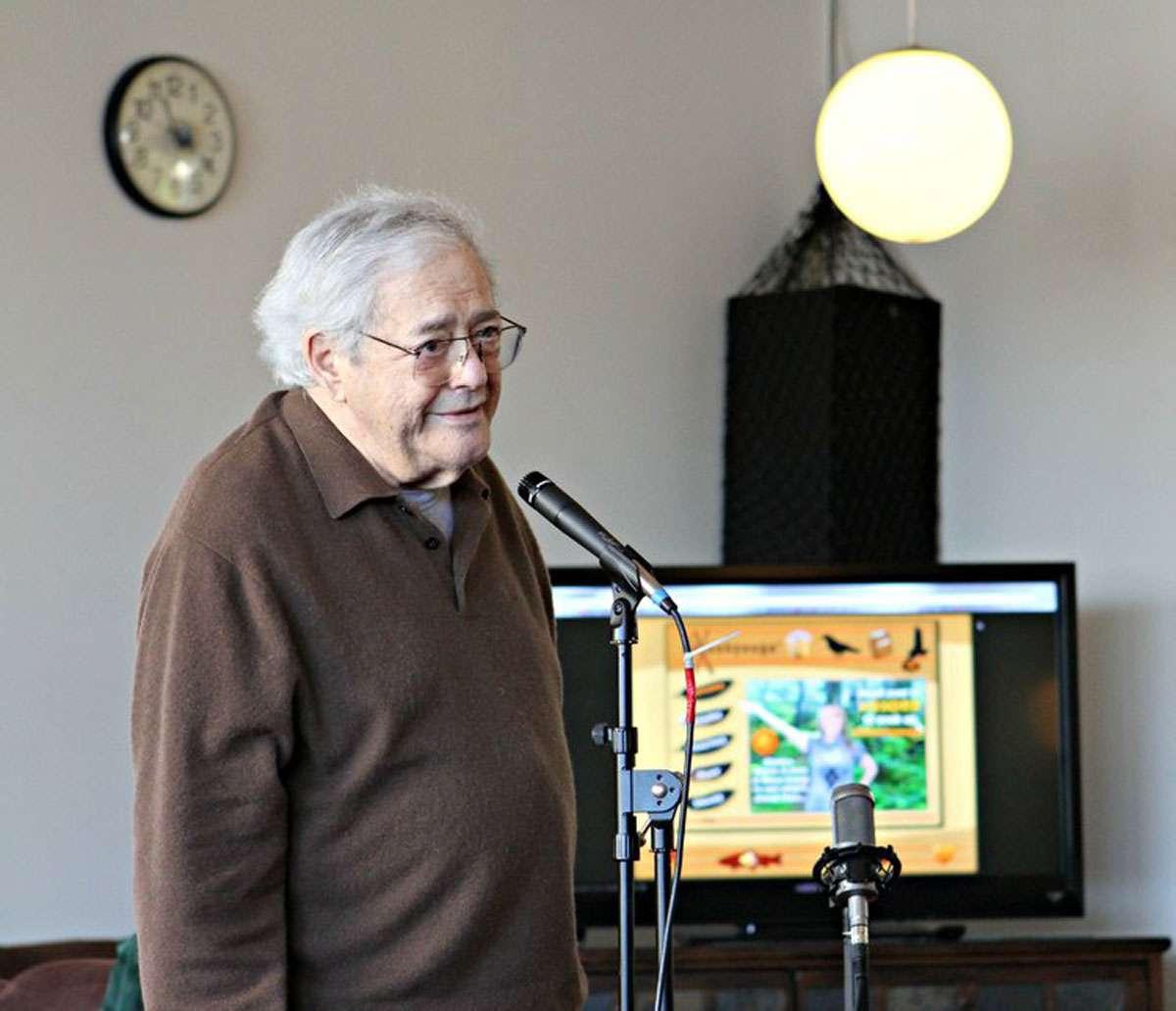 Linguist Michael Krauss in 2014. Photo: University of Alaska