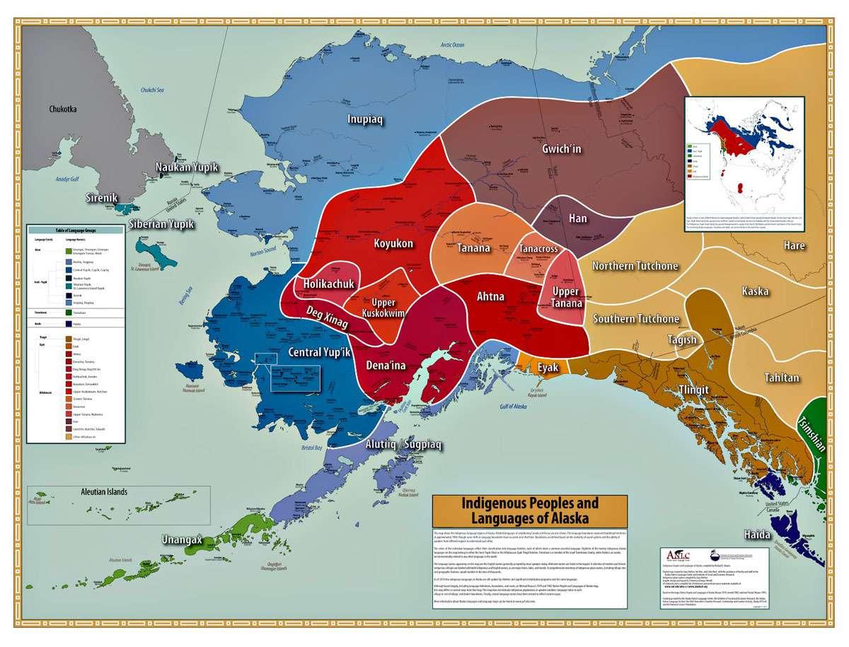 Indigenous Peoples and Languages of Alaska. Photo: University of Alaska Fairbanks