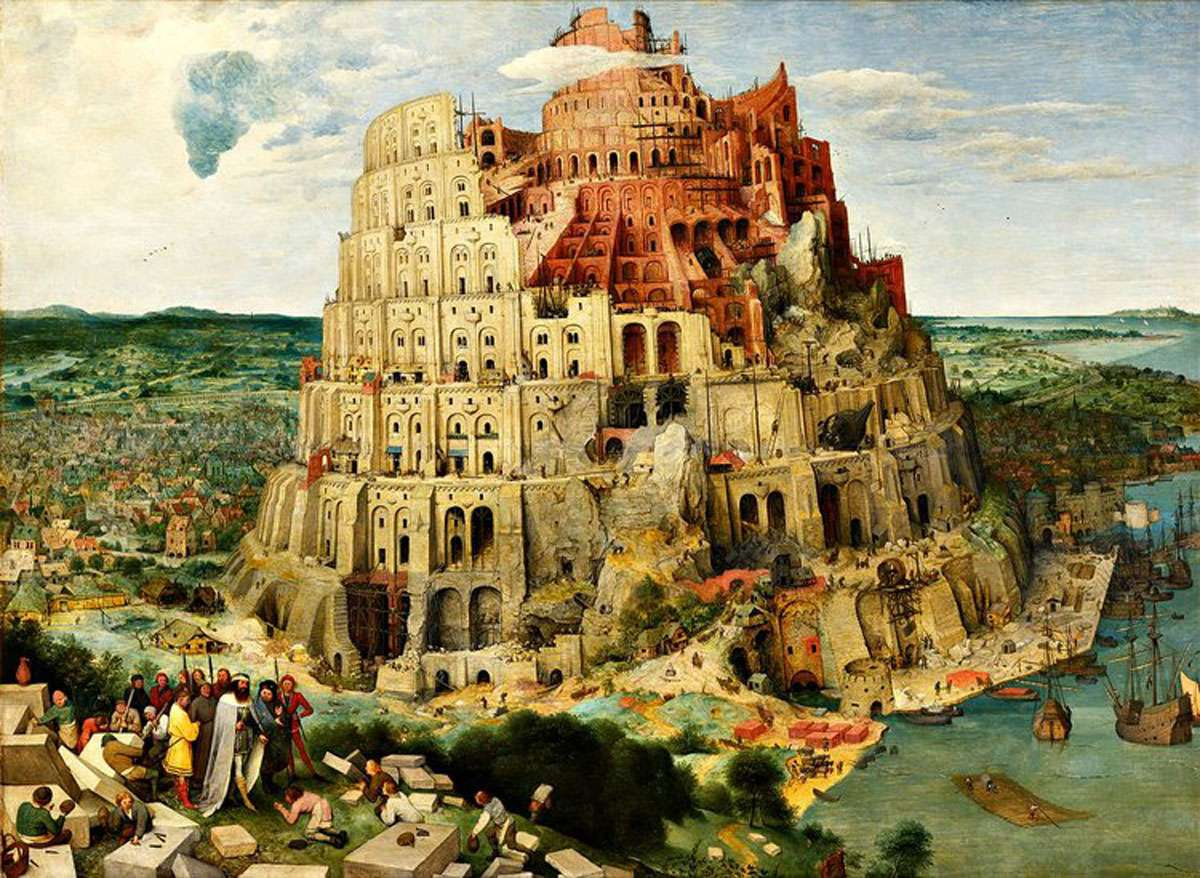 Krauss questions the Tower of Babel philosophy. Credit: Pieter Brueghel the Elder, Wikimedia