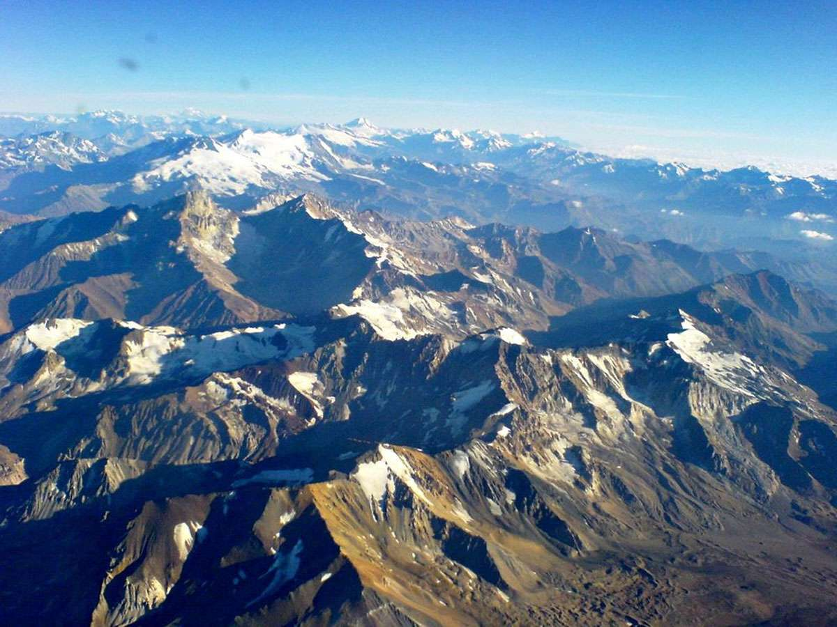 Cordillera de los Andes. Credit: Wikimedia Commons