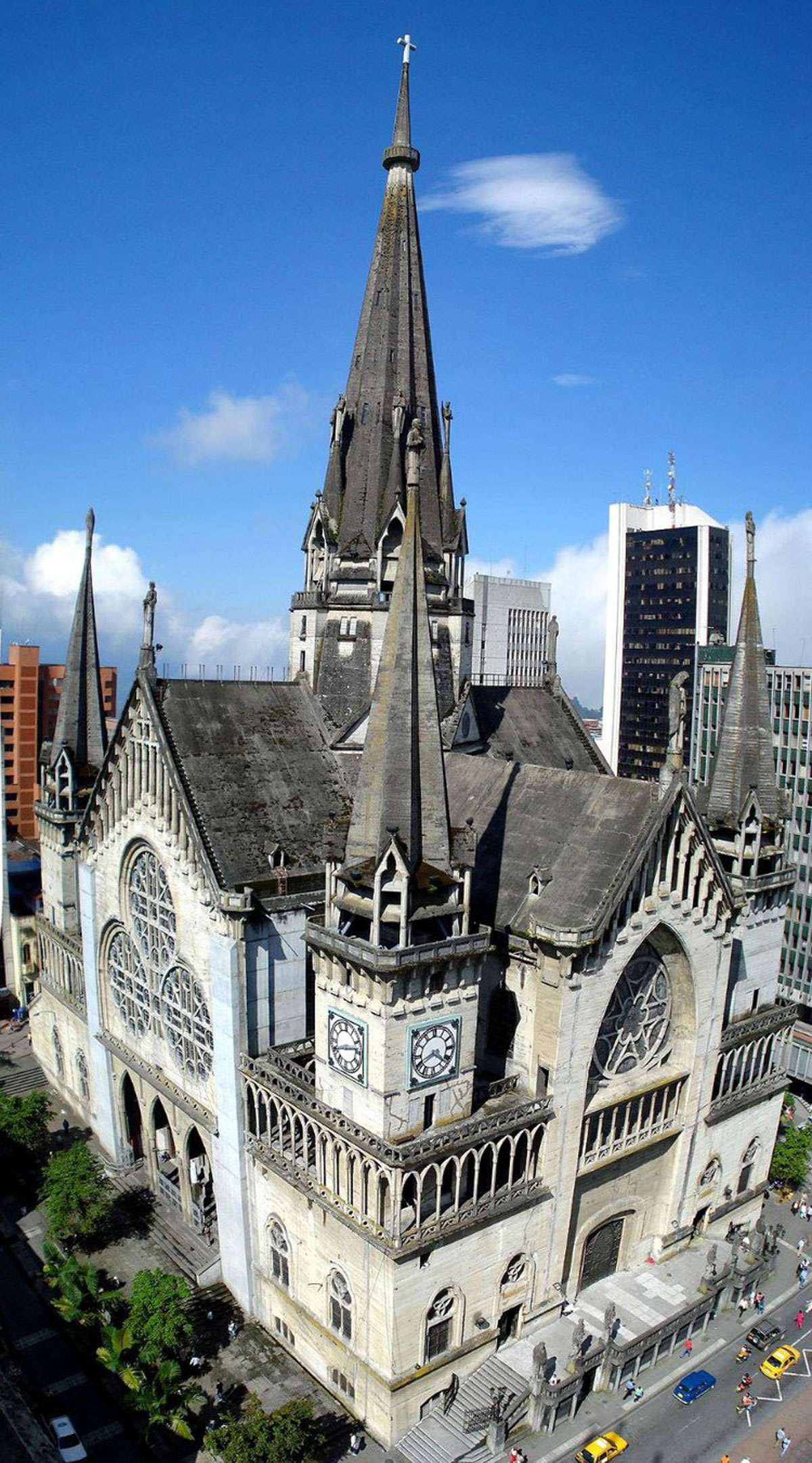 Cathedral of Manizales. Credit: Creative Commons